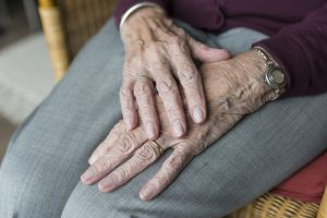 Older person cope with coronavirus situation